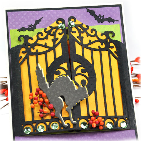 Spellbinders - Card Creator A2 Gate Gatefold Etched Dies – Arts and Crafts  Supplies Online Australia