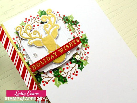Catherine Pooler Merry & Bright Boughs Stamps