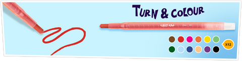 BIC Kids - Turn and Colour
