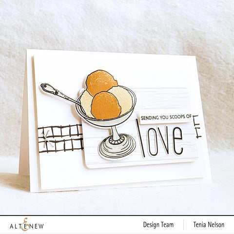 Altenew - Sweet Love Stamp and Die