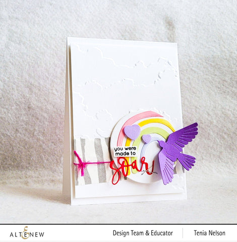 Altenew - Cloudy Day 3D Embossing Folder
