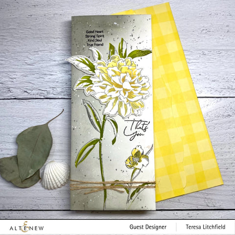 Altenew - Tall Foliage Stamp and Die