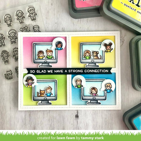 Lawn Fawn - Tiny Friends Stamps