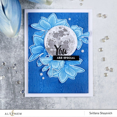 Altenew - To the Moon Stamp