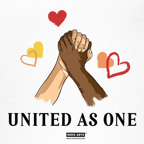 Hero Arts - United as One Clear Stamps