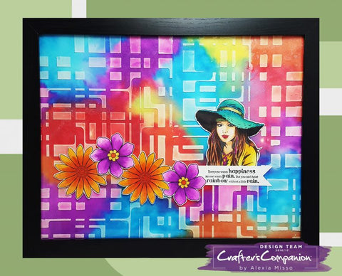 Sheena Douglas A project created with the Groovin' 60's collection from Sheena Douglass.  crafterscompanion