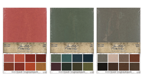 Tim Holtz Idea-ology Kraft Stock Stack Papers