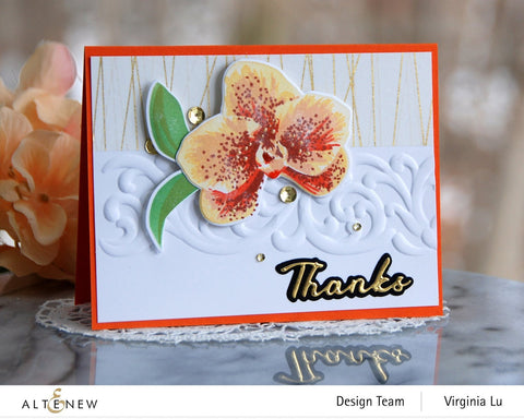 Altenew - Spotted Orchid Stamp Set