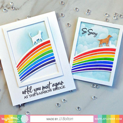 Waffle Flower - Rainbow Bridge Stamp Set