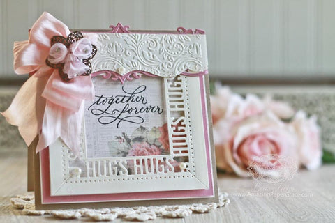 Spellbinders - Graceful Sweet Words Etched Dies
