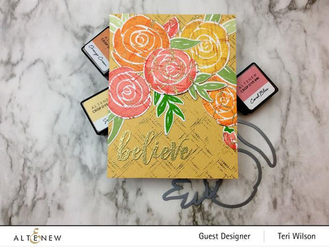 Altenew - Watercolor Roses Stamp and Die