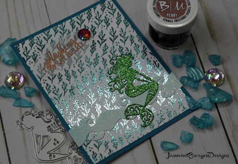 Brutus Monroe Mermaid Lagoon - 4x8 Stamp Set