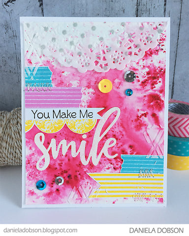 Impression Obsession Smile Stamp & Die
