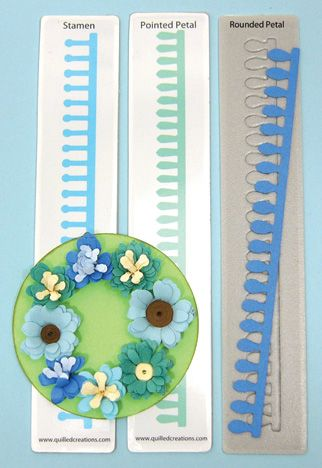 Quilled Creations Quilling Dies - Wildflowers