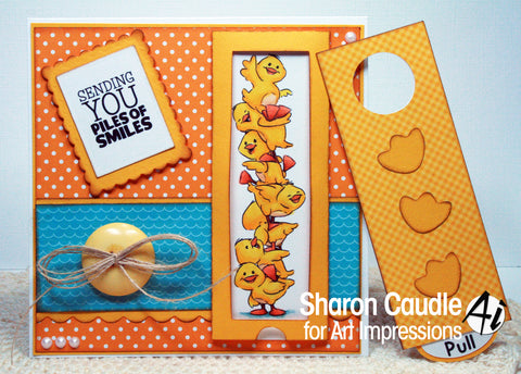 Art Impressions - Duck Stackers Stamp Set