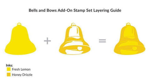 Altenew - Bells and Bows Add-On Stamp Set