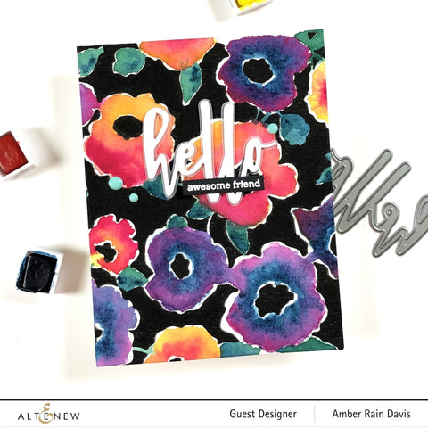 Altenew - Bold Floral Drape Stamp and Die