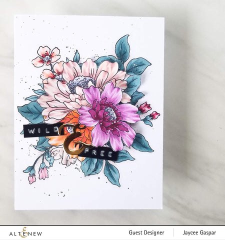 Altenew - Flower Garden Stamp and Die Set