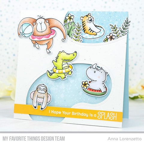 My Favorite Things - BB Sunshine & Friendship Stamps and Die-namics