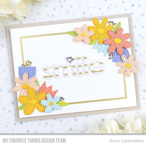 My Favorite Things - Foiled Frames - Rectangle Die-namics