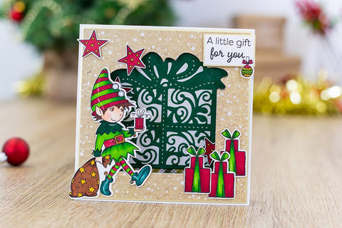 Crafter's Companion - Annabel Spenceley Photopolymer Stamp - Oh What Fun