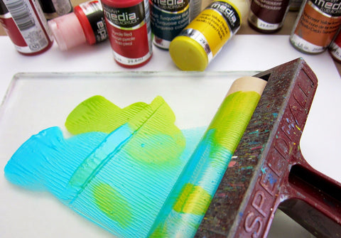 "Gelli Arts - 4"" Pop-In Soft Rubber Brayer - Speedball"