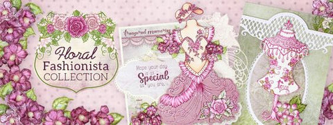 Heartfelt Creations Floral Fashionista Collection