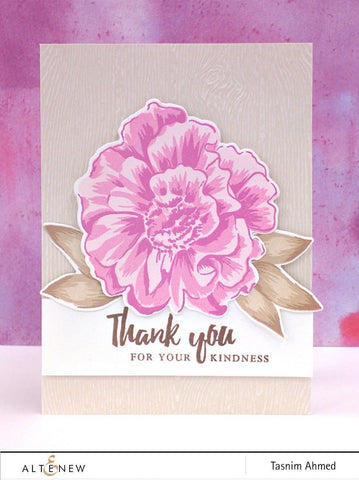 Altenew - Build-A-Flower - Camellia Stamp and Die