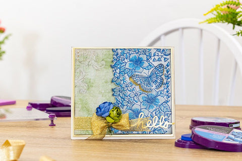 Crafter's Companion - Background Layering Stamps - Butterfly Bouquet