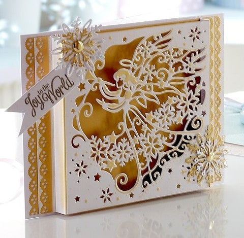 Signature Collection by Sara Davies - Traditional Christmas Metal Die - Guardian Angel