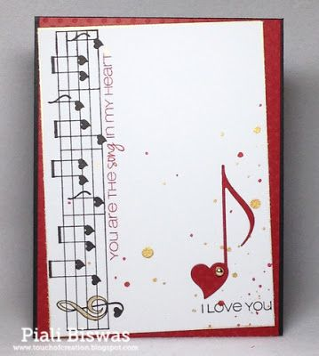 CAS-ual Fridays Stamps - Love Notes Stamp
