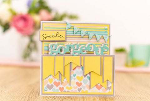 Crafter's Companion Craft Box Kit - Statement Word Edge'ables #16