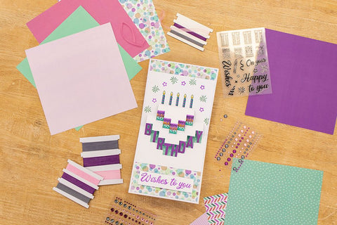 Crafter's Companion - Shaped Pop Out Craft Kit