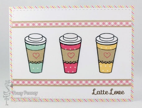 YNS Love and Coffee Stamp CYNS505