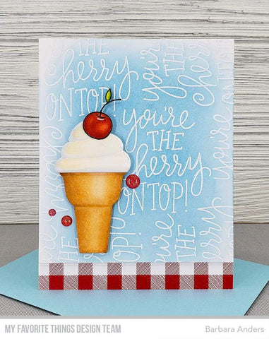 My Favorite Things - Cherry on Top Stamp