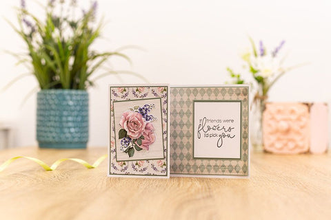 Crafter's Companion Craft Box Kit - Floral Decoupage #23 (NEW)