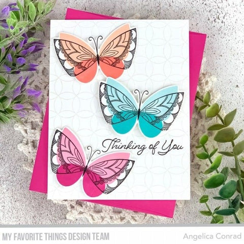 """My Favorite Things - Clear Stamps 6""""X8"""" - Brilliant Butterflies"""