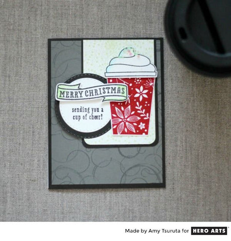 Coffee Cup Tag Frame Cuts