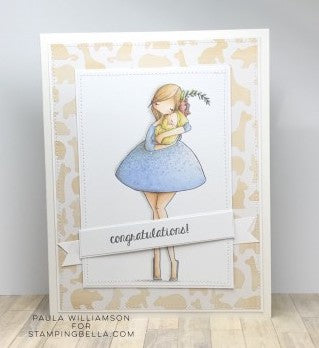 Stamping Bella - Curvy Girl with a Newborn