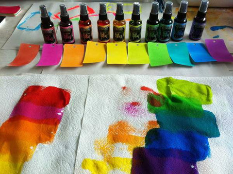Dyan Revealey Dylusions Ink Sprays