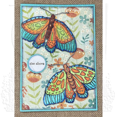 Stampers Anonymous - Danielle Mack - Cling Mount Stamps - Rise Above