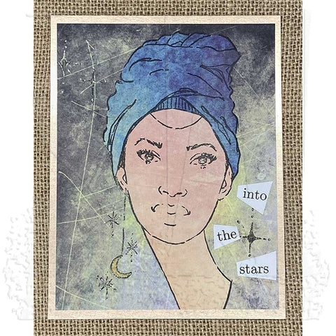 Stampers Anonymous - Danielle Mack - Cling Mount Stamps - Star Gazers