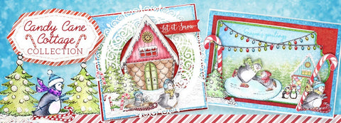 Heartfelt Creations - Candy Cane Cottage Paper Collection