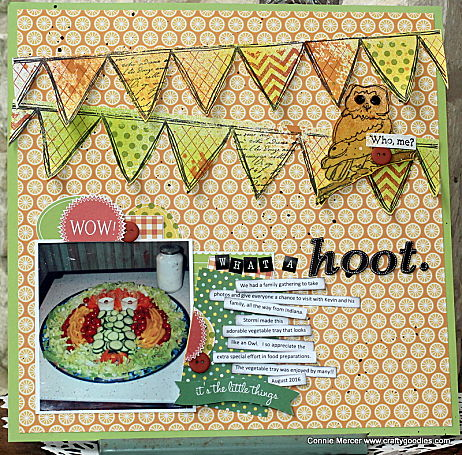 Darkroom Door - Border Stamp - Bunting