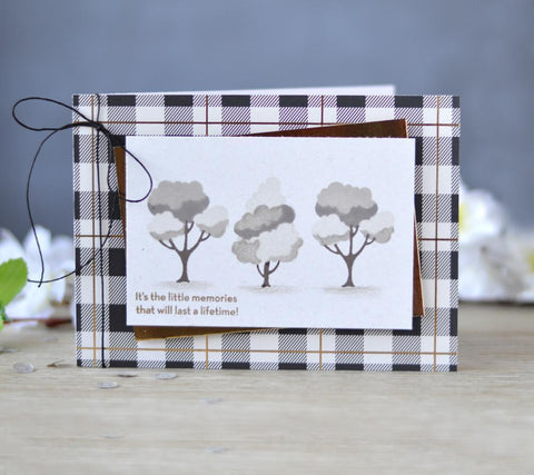 Altenew Mini Peach Tree Stamp