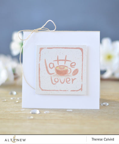 Altenew Mini Latte Stamp & Die Set