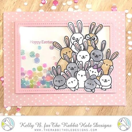The Rabbit Hole Designs - All Ears 4x4 Stamps