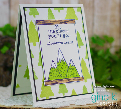 Gina K Design - Emily Loggans- Baby Boy Stamp Set