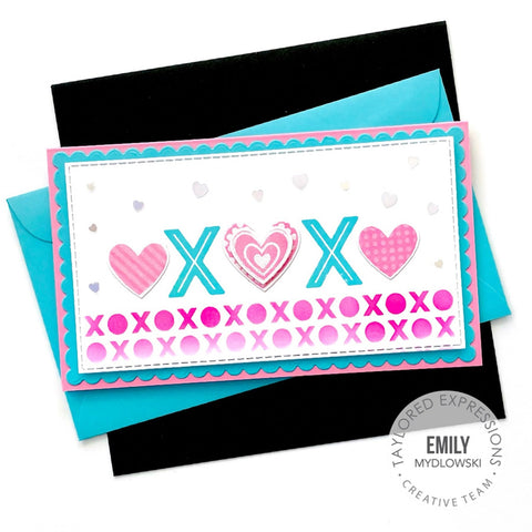 Taylored Expressions - Stencil Strips Love
