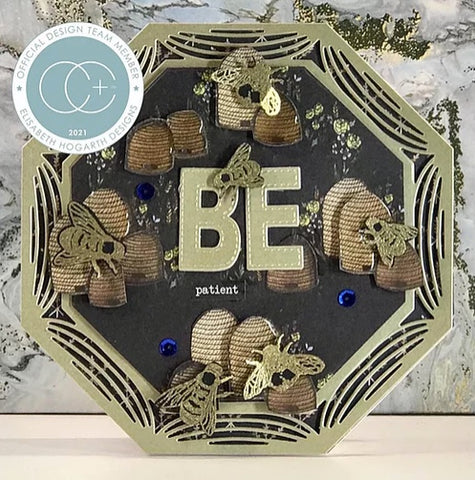 Craft Consortium - A5 Clear Stamps - Tell The Bees - Special Edition